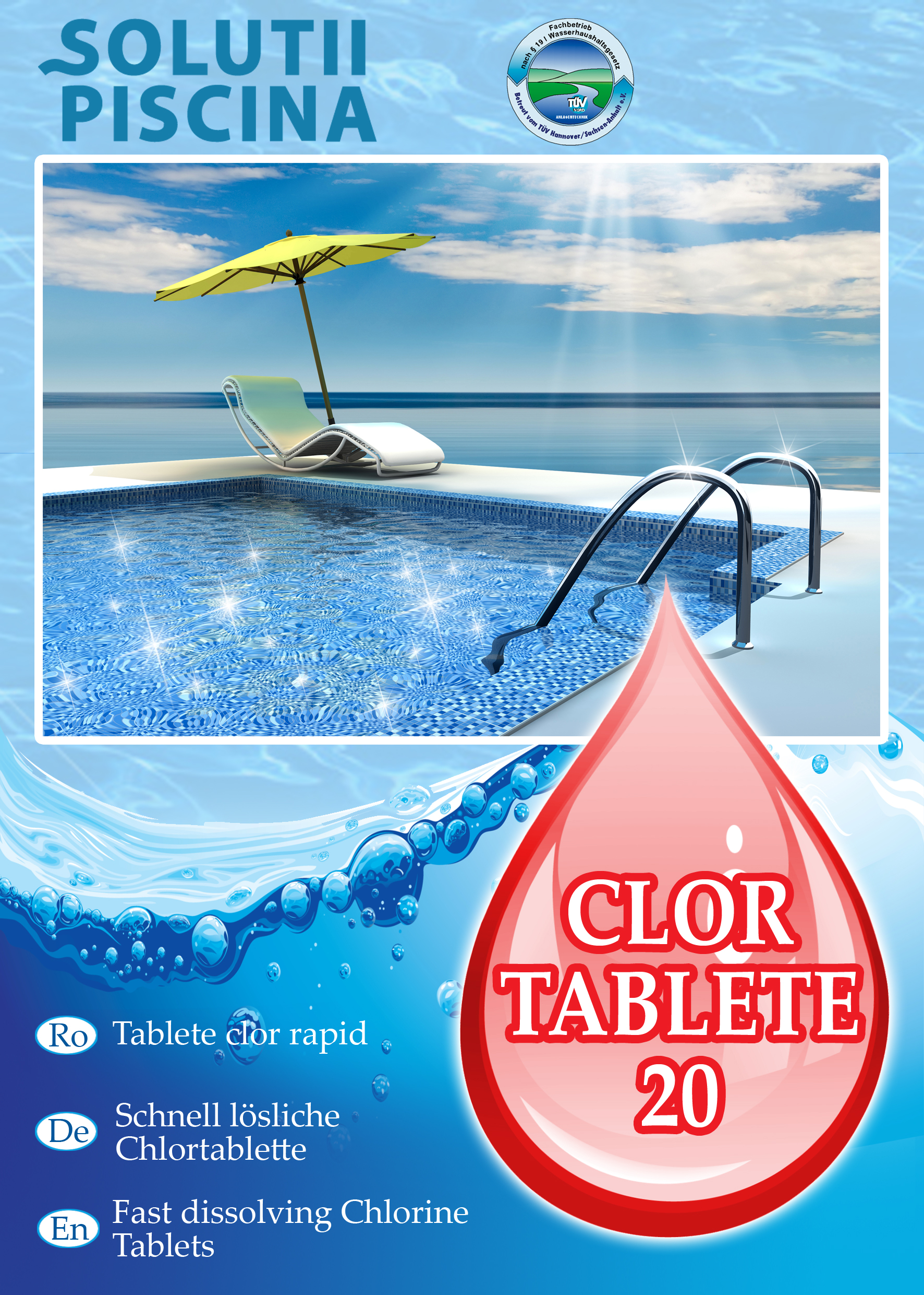 Clor tablete 20 efervescente